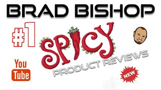 """Bishop Brad Reviews """"chili Master Reserve & Collector Bottle"""" By Hellfire Hot Sauce 2015"""