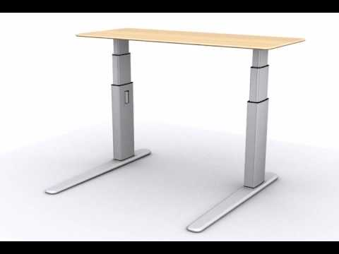 Furniture Legs Adjustable electrically driven adjustable table legs - tlel2 - youtube