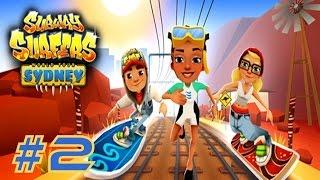 Subway Surfers: Sydney - Samsung Galaxy S6 Edge Gameplay #2