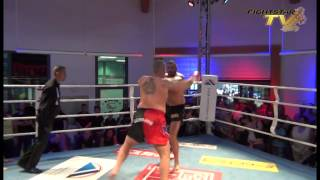 Daniel Alberti bei Duisburg Giants - Muay Thai Duisburg