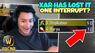 Has TBC Slowed Xaryu's Reaction Time??? 1 Interrupt in 4 Minutes