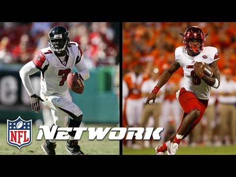 Mike Vick Breaks Down Why Lamar Jackson will be Great in the NFL | NFL Network