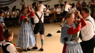 Schuhplattler und Figurentanz Festwoche Garmisch 2015