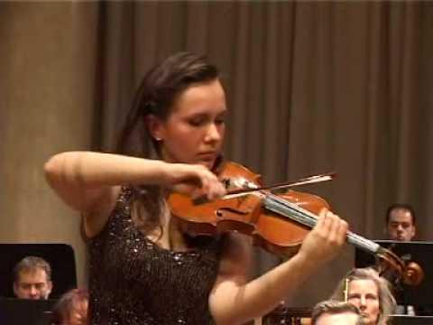 Tchaikovsky violin concerto. Maria Azova - violin