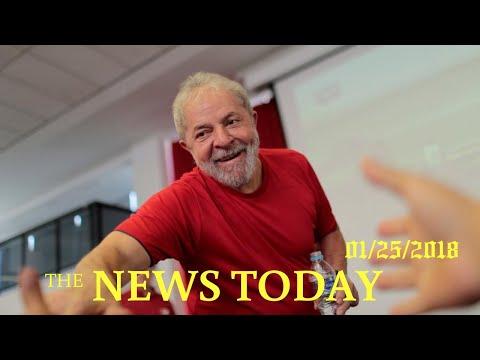 News Today 01/26/2018 | Donald Trump | Brazil Court Approves Seizure Of Lula's Passport: Source