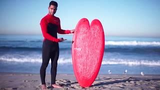 Heart Surfboard: #HappyValentinesDay ❤️ (feat. Hunter Jones)