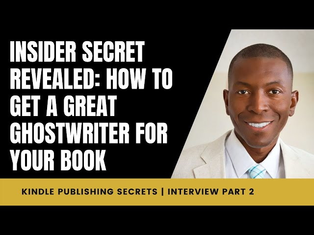 INSIDER SECRET REVEALED: How to Get a GREAT Ghostwriter For Your Book   Interview w/ Linda Allen 2/7