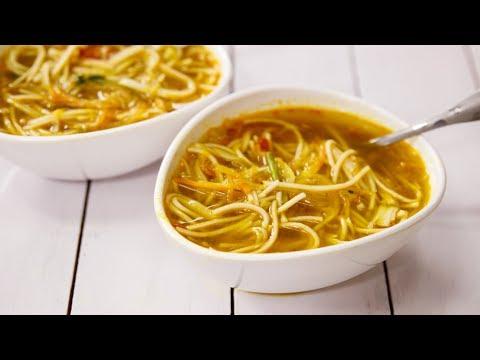 Thukpa Recipe - Veg Noodle Soup in Nepali - Sikkim Style - CookingShooking