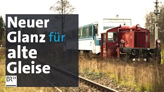 100 Jahre alte Bahnstrecke reaktivieren: Was wird aus der Staudenbahn? | BR24