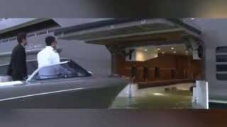 Mega Yacht Has a 'Garage' for Speedboats
