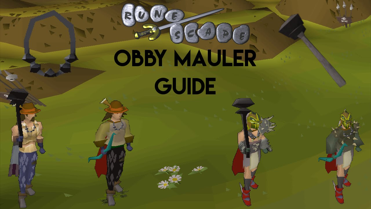 Ultimate 55 slayer guide for obby maulers | quickest, most.