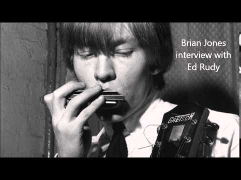Radio Interview with Rolling Stones founder, Brian Jones. Circa 1964