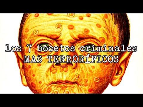 Los 7 bocetos criminales más terroríficos