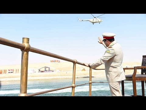 Celebrations begin to open New Suez Canal in Egypt
