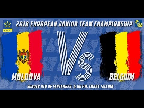 Moldova vs Belgium - Day 3 - 2018 European Jnr. Team C'ships
