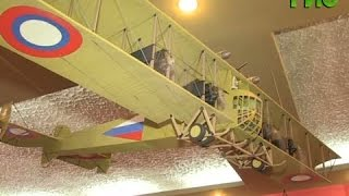 Самарец создает самолеты времен Первой мировой войны из мусора(Александр Кизельбаш работает хранителем фондов военно-исторического музея. В свободное время мужчина..., 2016-06-29T07:00:01.000Z)