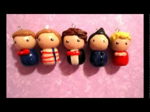 One Direction Clay Figures