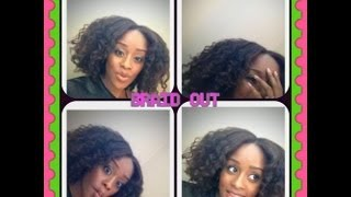 natural hair transition style easy 6 braid braid out on blown out hair  bloopers