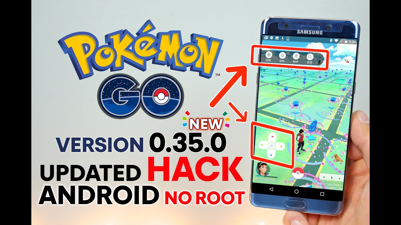 Pokemon GO Hack Android NO Root 0.35.0 - Teleport & Catch ANY Pokemon - YouTube