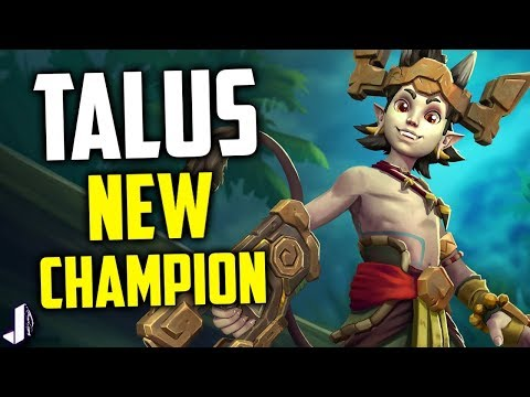 Talus Paladins New Champion - SMG, Teleporter & Demon Punches