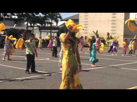 NSCW Dance 2016 Saint Anthony School, Honolulu