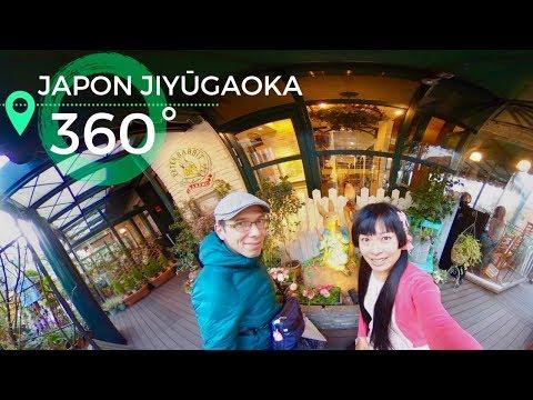 JAPON 360° Jiyûgaoka, Sanctuaire Pâtisseries So Shôjo & Pierre Lapin Café VIDÉO SPHÉRIQUE 4K