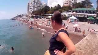 15 июня 2015 г Ялта, пляж, Отдых в Крыму WWW.YALTA-RR.COM