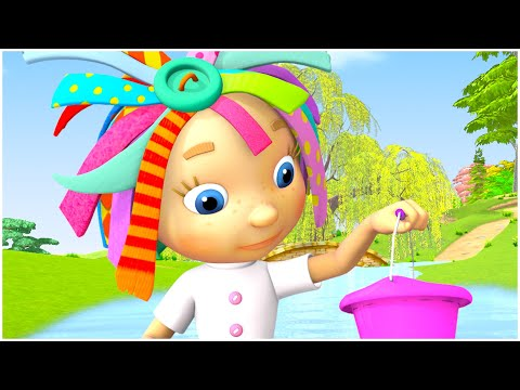 Water for Kids   Cartoon for kids   Storm and Rain   Compilation   Everythings Rosie