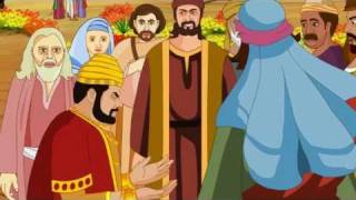 Bible stories for kids  - Zacchaeus ( Jesus Cartoon Animation in English )