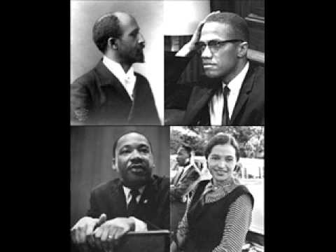 MARTIN LUTHER KING MALCOLM X ROSA PARKS