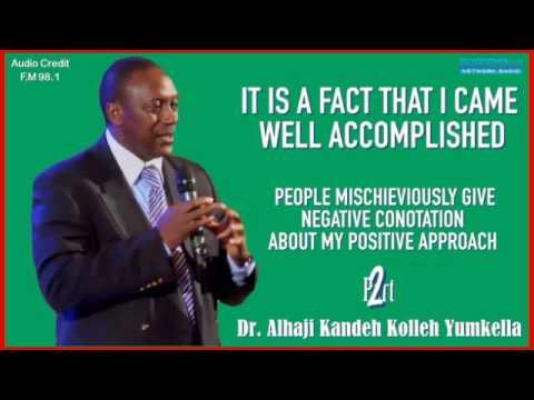 Dr. Kandeh Yumkella Returns To Sierra Leone Pt2
