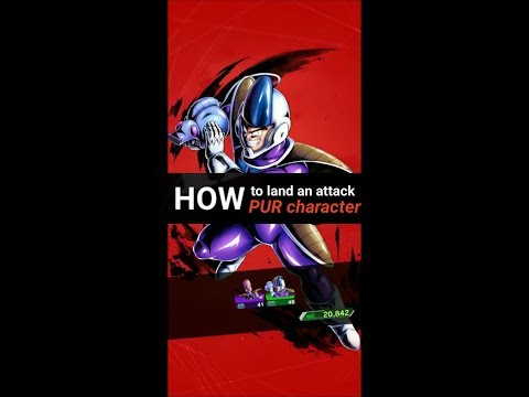 DB Legends - How To Land An Attack With PUR Character?