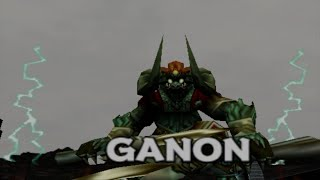 Legend of Zelda Ocarina of Time Final Boss: Ganon