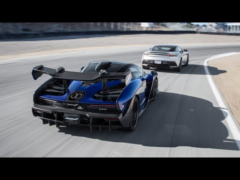 Aston Martin DBS Superleggera vs. McLaren Senna—2019 BDC Hot Lap Matchup