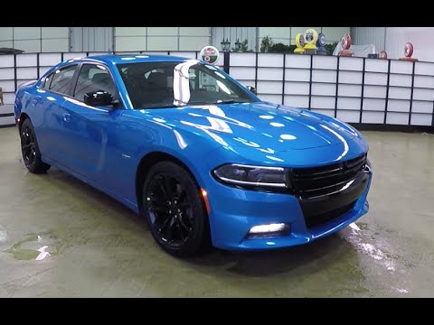 Blue Dodge Charger >> 2016 Dodge Charger Rt Plus Blacktop B5 Blue Indianapolis In
