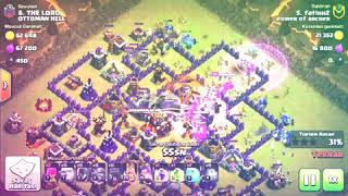 POWER OF ARCHER CLAN VS OTTOMAN HELL - PLAYER ATTACK #FATİHH2 - INSANE ATTACK - CLASH OF CLANS