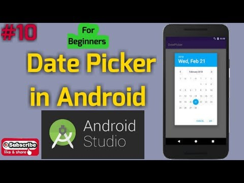Android tutorial in Hindi for Beginners #10 | How to create DatePickerDialog in Android Studio. thumbnail
