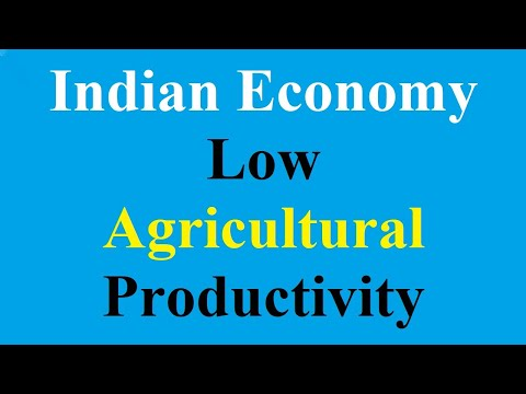 03 Causes of low Agricultural Productivity