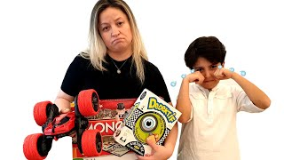 Sado and Mom funny stories for kids about sadness