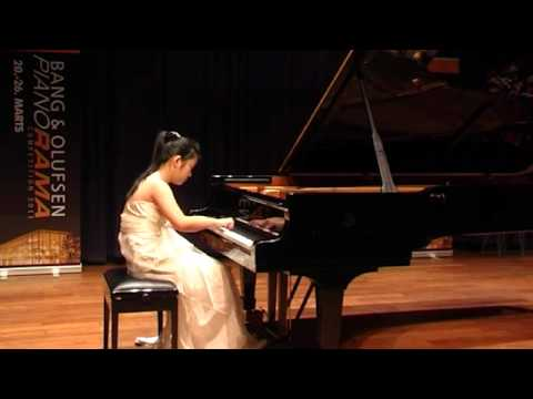 Li Chu Ren  2nd round  Moszkowski,  Etude de Virtuosité in E major, Op 72 No 1