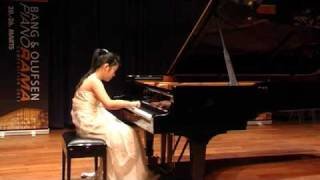 Li Chu Ren - 2nd round - Moszkowski,  Etude de Virtuosité in E major, Op. 72 No. 1