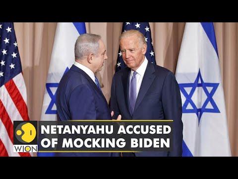 Israel's former PM Netanyahu appears to mock Biden   Latest World English News   WION