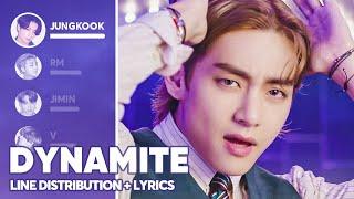 Download lagu BTS - Dynamite (Line Distribution + Lyrics Color Coded)