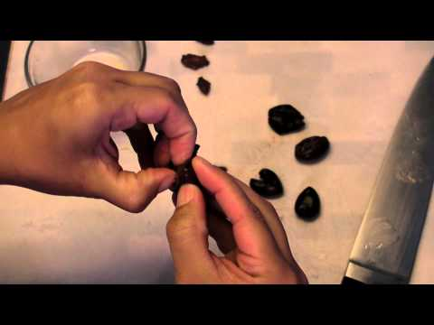 How to Pit Kalamata Olives