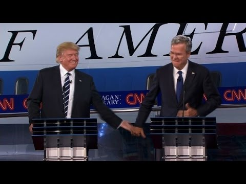 Highlights of the Bush/Trump Splitscreen