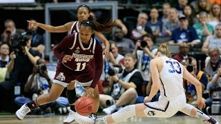 UCONN Vs. Mississippi State NCAAW Final Four Highlights 2017