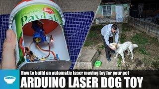 Arduino Laser Chasing Dog Toy