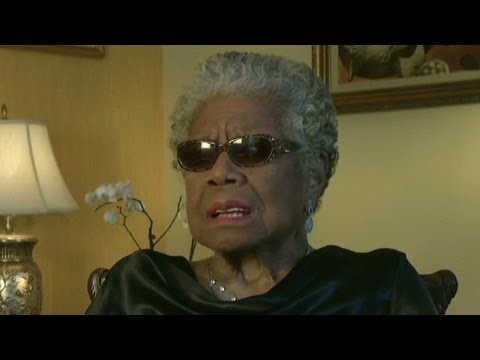 Angelou: 'No one of us can be free until everybody i...