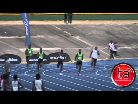 Yohan Blake 400m at Camperdown Classic PB 46.49