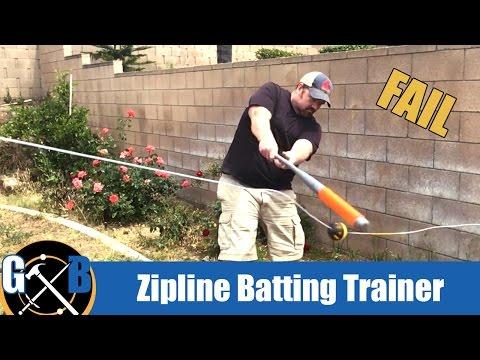 Make A DIY Baseball Swingline Trainer Batting Aid :: How To